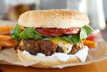 ◆◇◆ Food: Burgers ◆◇◆ / by Knit Spirit