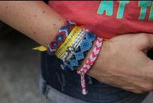 ◆◇◆ DIY: friendship bracelets ◆◇◆ / by Knit Spirit