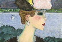 Women in Art  / Beautiful women portrayed in Art. / by Noreen