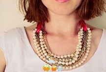 ◆◇◆ DIY: necklaces ◆◇◆ / by Knit Spirit