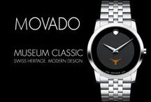Movado Watches / We are proud to present these officially authorized Movado watches with licensed university logos. Our Movado watches are custom-made and fully covered by Movado's official two-year warranty. M.LaHart offers free personal engraving on all watches.Movado, one of the world's leading watchmakers, recognized for its legendary museum dial featuring the iconic concave dot at 12 o'clock.