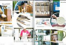 Editorial Features / Editorial Features | As Seen In | Southern Lady Magazine | Home Decor | Place Settings | Decorating the Kitchen