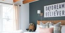 Our first home / Inspiration for the colours and decor we will be using in our first home together. House hunting now!