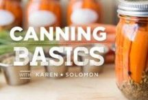 DIY Cooking Projects / DIY cooking, preserves, pickles, food preservation, urban homesteading, fermentation, drying, salting, curing, putting up, condiments, do it yourself, vinegar / by Karen Solomon