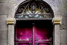Doorways and Fixtures / Inspiring doorways from around the world. / by Jacqueline Roth