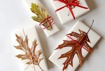 Inspiration:  Gift Wrapping Ideas / Creative and Inspiring ways of wrapping gifts  / by Jacqueline Roth♡