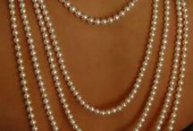Pearls, Pearls, and more Pearls / by Jacqueline Roth♡