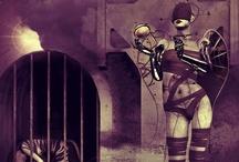 Steampunk Closet