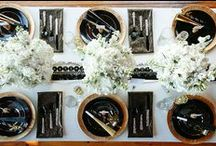 Inspiration:  Black And White Party / Having a black and white party?  Need some ideas and inspiration?  Here are a few…. / by Jacqueline Roth♡