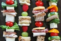 Snack Recipes / Inspiration for snacks and appetizers