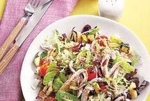 Salad Recipes Galore / salads, salads and more salads