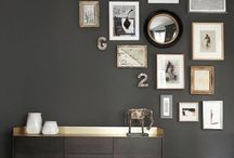 GREY INTERIORS / Grey tones and colour themes.
