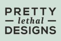 Pretty Lethal Designs / We craft branding that is tailored your business. Your unique business goals and mission will form the core of the brand strategy we create, which means your branding is more than just a pretty face—it's a killer tool that is tailor-fit to help your business run smarter.  Just be careful what you do with it. www.prettylethaldesigns.com