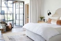HOME | bedrooms / by Amanda Martin