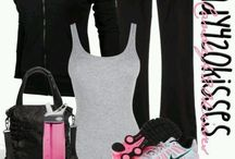 Fitness / Moda e exercícios para academia