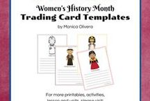 Women's History Month / A fascinating look at women in world history. / by MommyMaestra