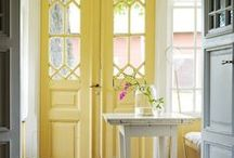 When a Door Closes / Fantastic doors--fanciful, colorful and fun.