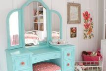 Room For a Princess / Beautiful decor ideas for your little girl/princess.
