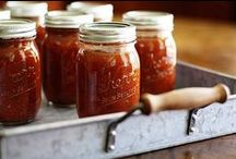 Canning and Preserving / Saving money by canning your own fresh fruits and vegetables.