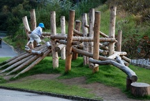 outdoor play space / by Sasha Prosser