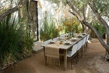 outdoor dining / by Adrianne Patnaud