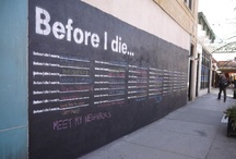 Bucket List / What do you want to do before you die? / by Lainie C.