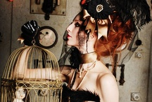 Inspiration: Steampunk / Fabulous examples of Steampunk fashion and accessories which could be used as inspiration for a Steampunk themed/inspired wedding or other garments.