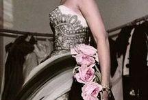 Inspiration: Retro and Vintage fashion / Retro and Vintage wedding and evening wear inspiration.