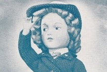 Vintage Doll Patterns / Vintage Crochet and Knitting Patterns for Doll Clothes and Dolls