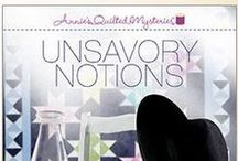 Book: UNSAVORY NOTIONS / Amy writes a little more than romance. :) Pins and inspiration for my Amish cozy mystery from Annie's Quilted Mysteries. Coming August 2015.