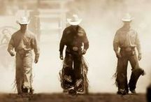 Inspiration: COWBOYS / All about rodeos and cowboys (my favorite kind of hero!)