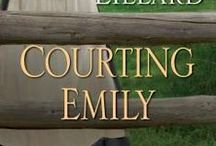 Book: COURTING EMILY Wells Landing Book #2 / Pins of images and inspirations for Courting Emily an Amish romance by Amy Lillard. Wells Landing Series Book #2