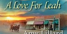 Book: A LOVE FOR LEAH / The second book in the Amish of Pontotoc Series. Set in my home state of Mississippi Coming fall 2018