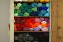 yarn colors / by Leah Coccari-Swift