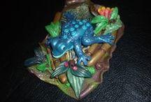 My work & jewelry, Creative Studio Blanka / My work with polymer clay art and jewelry