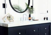Bathrooms / interior design of bathrooms