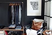 Home Organization / designerly closets + home organization