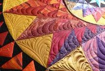 Patchwork and quilts / creative work with textile