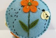 Pincushion parade / by Sue Brown