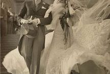 Vintage Weddings / Vintage weddings and brides circa early 1900's- 1960's. Ideas for vintage themed weddings / by Michelle's Vintage Jewelry