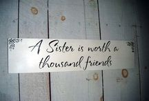 Seester, Seester, Brother / Things shared between sisters! And thier little brother. / by Kara Richardson