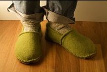 Footwear, Socks and Slippers (to make)