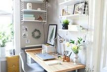 Homework / dreamy creative spaces