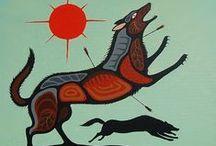 Cree & Woodland Art / First Nations, Native, Aboriginal, Canadian ... Art!