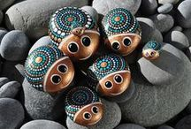 Painted Rocks - bemalte Steine