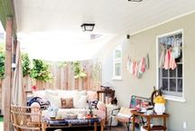 Gorgeous Outdoor Spaces / by The Blooming Thread
