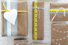 Gift Wrapped / Ideas for gifts to give and pretty wrapping/presentation. / by Elnora Hawley