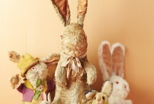 Vintage Easter Blessings / WHY ARE THESE BUNNIES SOOOO CUTE??? / by Stephanie Blaylock