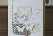 Scrapbook; Kaart&Vlinder/Card&Butterfly / by Anja Brokelman