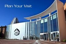 Come see us! / Come visit America's Premier Sport's Museum & Showplace!